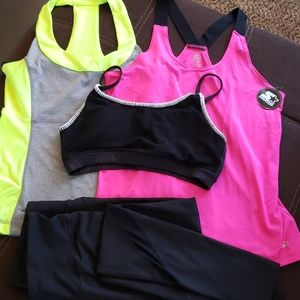Workout Active Wear Set
